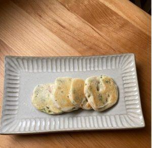 ツナとブロッコリーのパンケーキ 所要時間:10分
